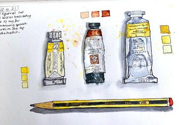 Sketchbook Art Materials Workshop