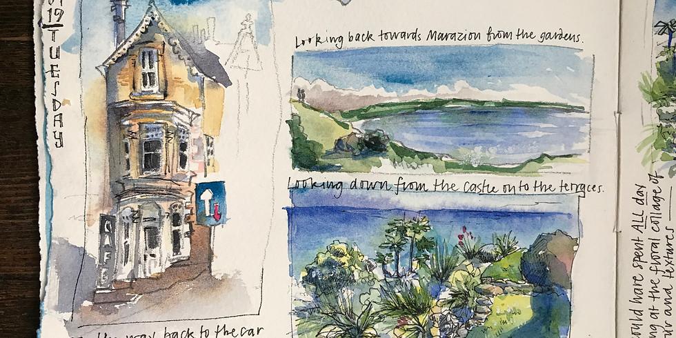 Travel Journal: Walk, Talk, Sketch