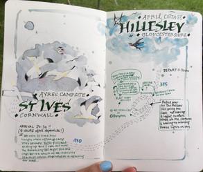 Travel Journal...An Eventful Journey!