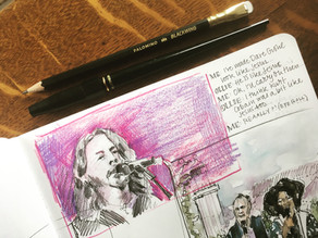 Glastonbury Festival TV Pause Sketch