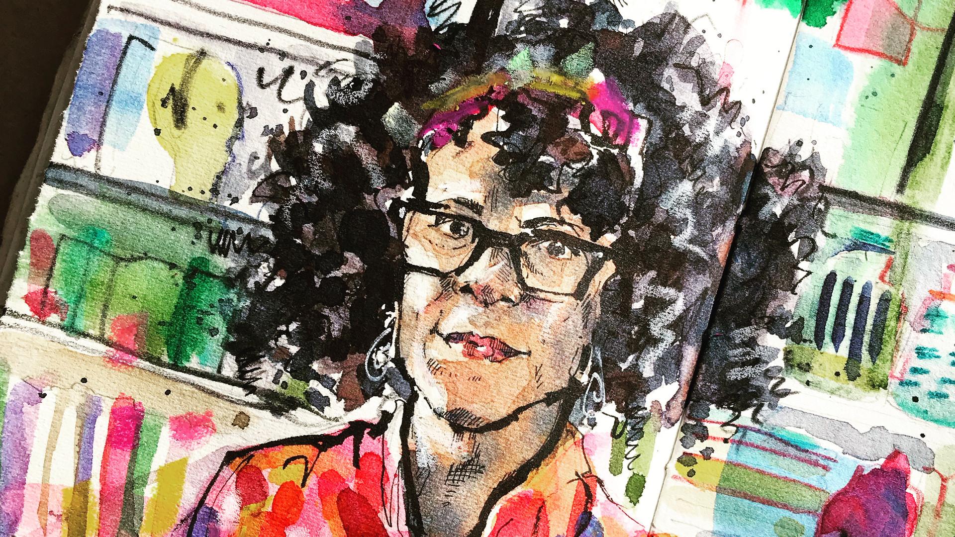 Portrait of Bernardina Evaristo