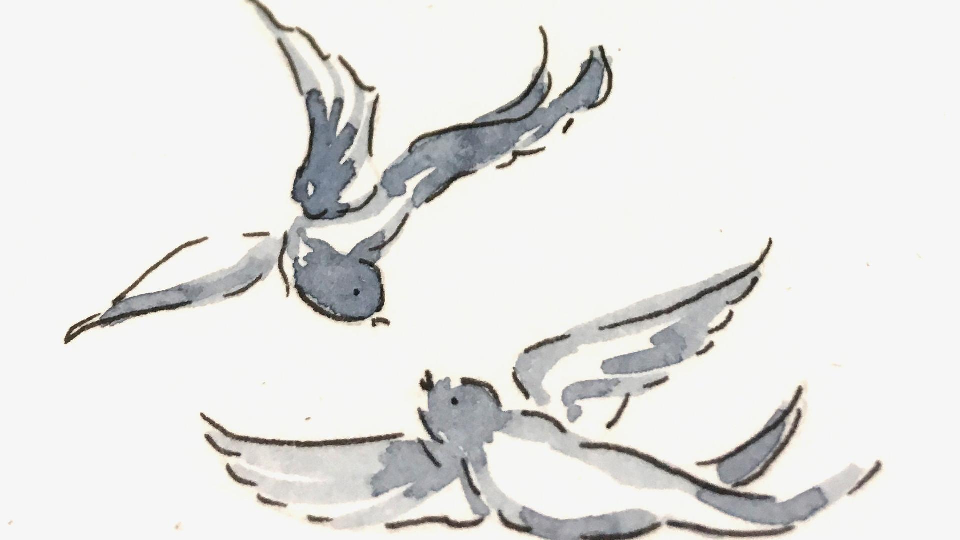 Willow Pattern detail