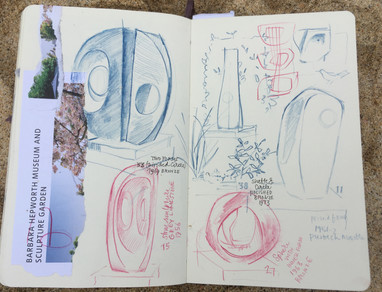 Barbarba Hepworth Museum Sketches