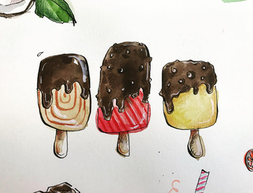 Ice creams for Yeo Valley