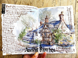House Sketchbook: A VERY haunted house!