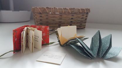 Haiku mini book
