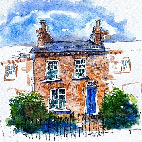 Sketchbook Workshop: Painting Houses