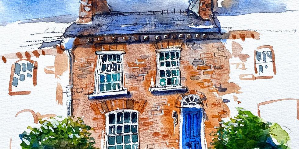Sketchbook Club 8: Painting Houses