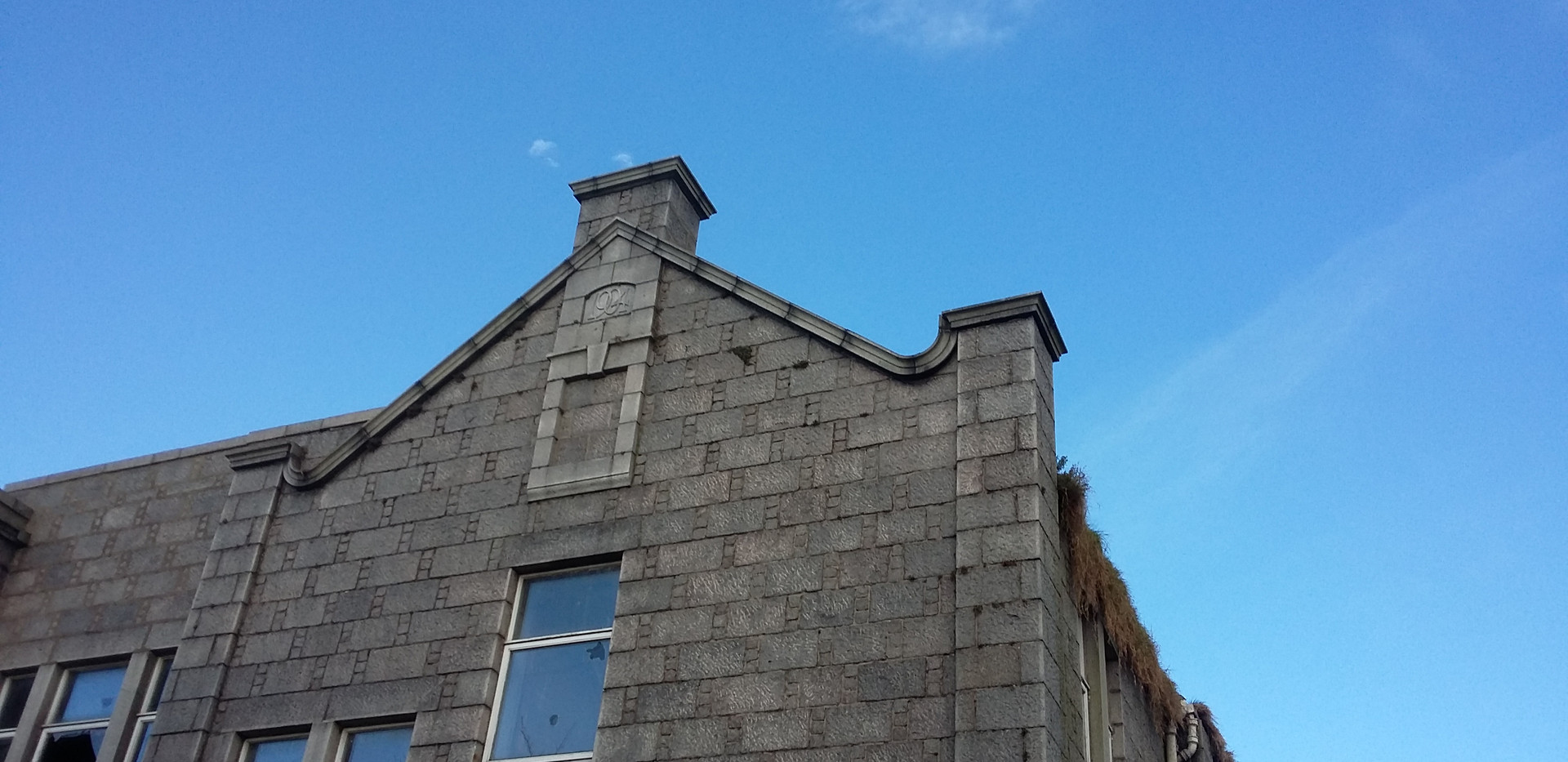 Building end Victoria Road School, Torry