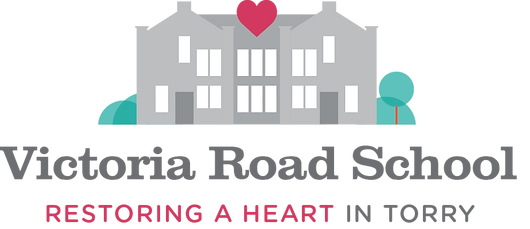 Victoria Road School Torry Aberdeen logo