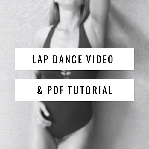 Lap Dance Video & PDF Tutorial