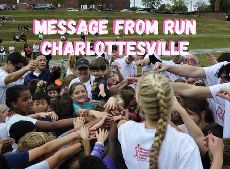 Message From Run Charlottesville