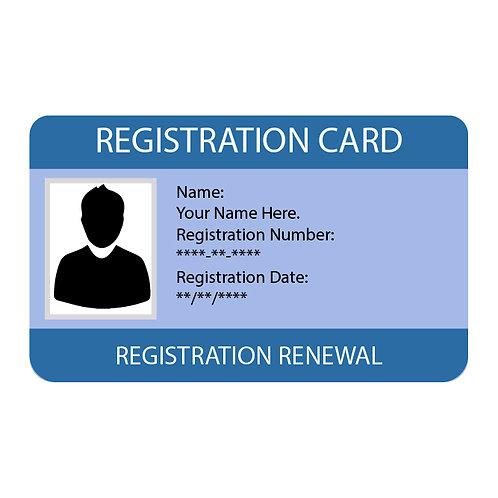 NYS Registration Renewal