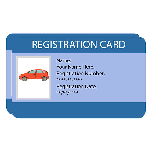 Replacement NYS Registration Service