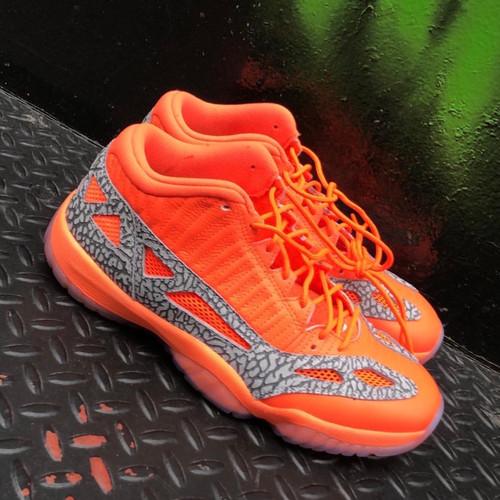promo code 32bb7 a3b1b Nike Air Jordan Retro 11 Low IE Flash Crimson