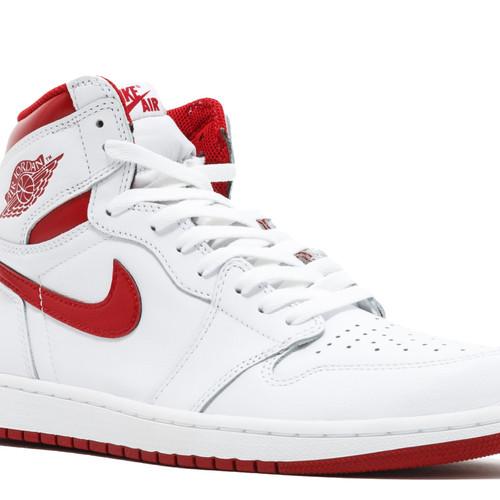 f4e08fbeb069 Nike Air Jordan Retro 1 Og High Metallic Red