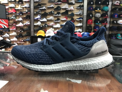 Ultra Boost 3.0 Mystery Blue On Feet