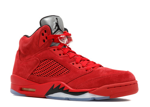 4299299af6fa6c Nike Air Jordan Retro 5 Red Suede