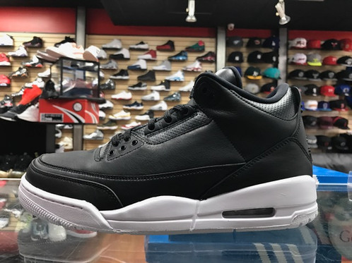 "low priced 95875 f6a30 ... Air Jordan 3 ""Cyber Monday"" Black Black-White 136064-020. air jordan  retro 3 october 15 ..."