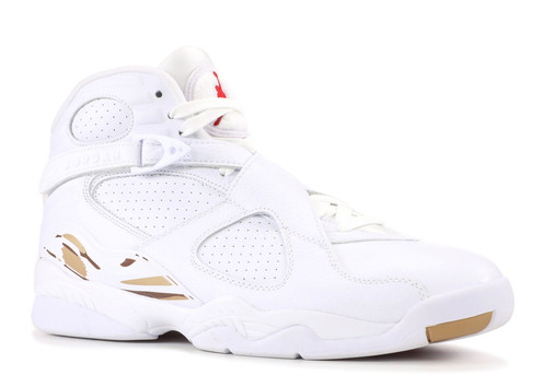 3386f47eb37894 Nike Air Jordan Retro 8 Ovo White Men
