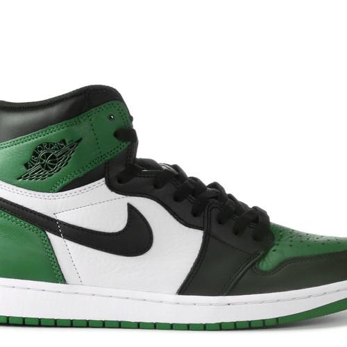 a134ae76bb2e2e Nike Air Jordan Retro 1 High Pine Green Men