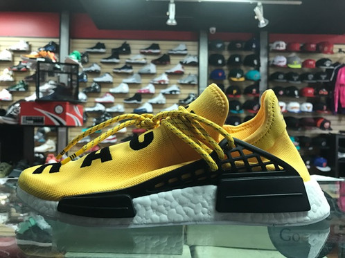 Sale NMD PW Human Race Yellow Black Sneakers Online, Best