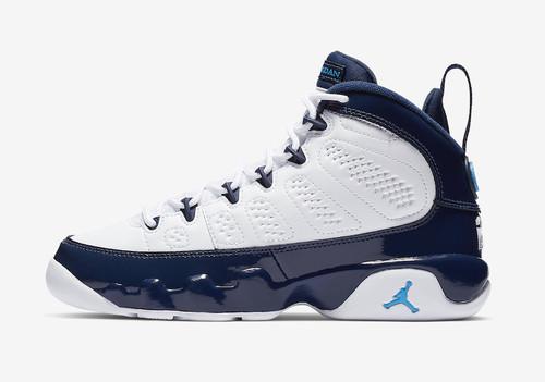 5067e114c5eda8 Nike Air Jordan Retro 9 UNC All-Star