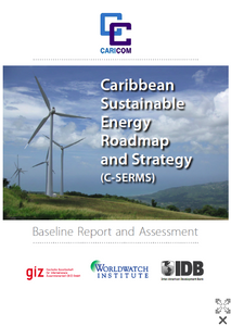 The newly updated report outlining ambitious targets and policies for Caribean countries.