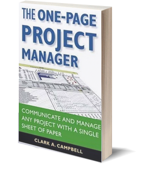 Bookmark: The One Page Project Manager