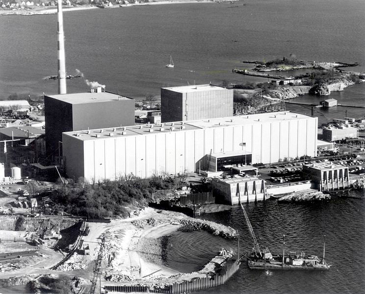 Millstone nuclear power plant, which has been contributing carbon-free energy for decades.