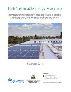 Haiti Sustainable Energy Roadmap Launch