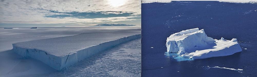 Antarctica took the Facebook 10-year challenge. Not good.