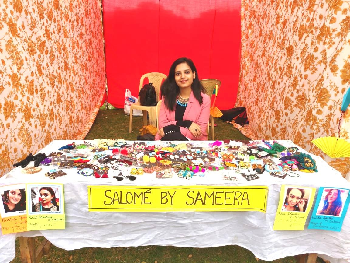 Salome at Jamia Millia Islamia