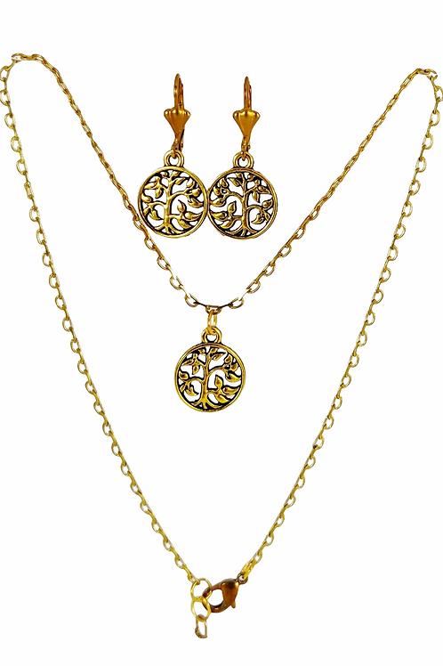 Jaali-work Coin Set