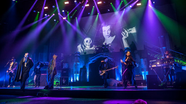 THE DAMNED & CIRCUS OF HORRORS AT THE LONDON PALLADIUM
