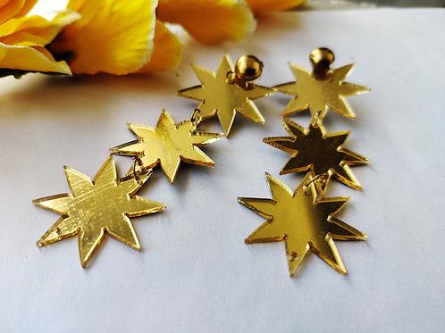 Gold Danglers