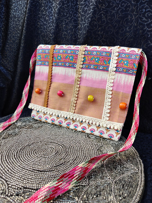 Beaded Sling Bag (3 in 1)
