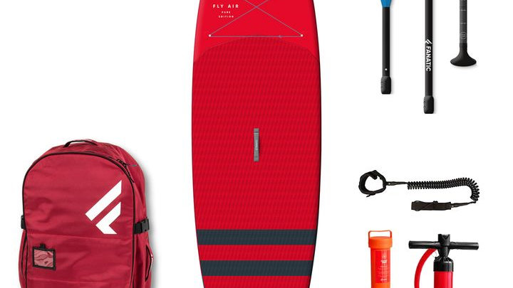 Inflatable Paddleboard Package - RED