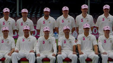 Pink Baggy Caps