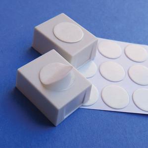 Half-Pans and Adhesive Disks