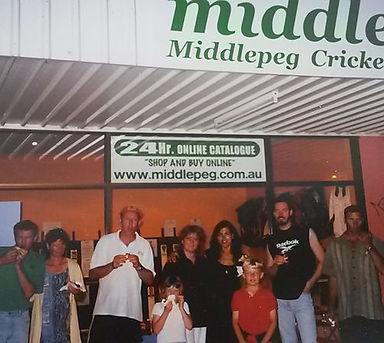 middlepeg shop 2001 Christmas party