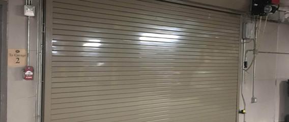 CHI High Performance Steel Roll-up Door for Parking Garage