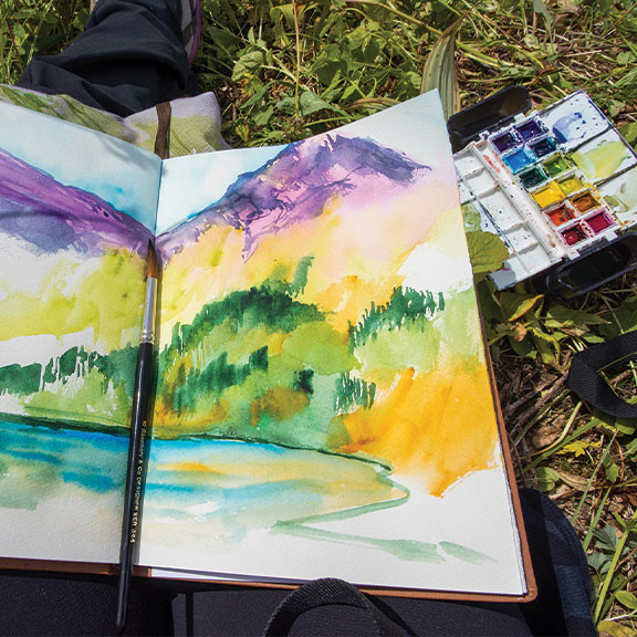 Ideal for Plein Air Painting