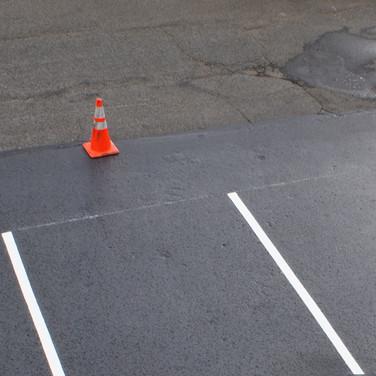 SealCoat parking lot