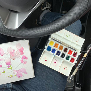 Perfect for Painting in the Car