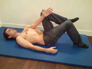 Les premiers exercices d'abdominaux
