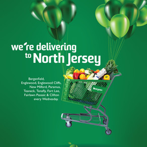 We Deliver to North Jersey