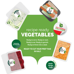 Recipe ready Vegetables