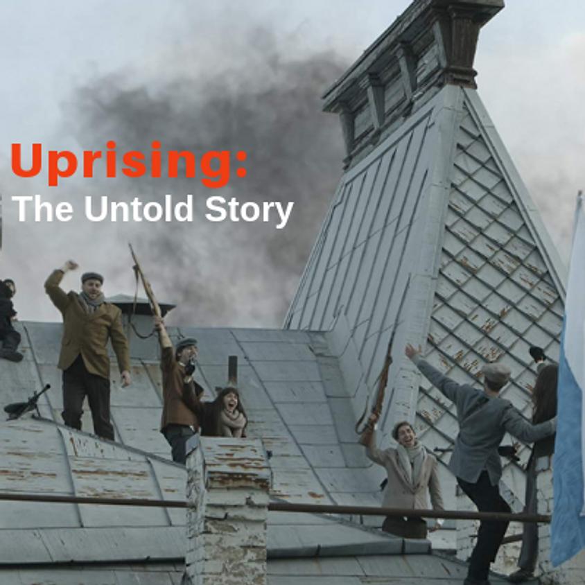 """2:45pm Sun """"Ghetto Uprising - The Untold Story"""""""