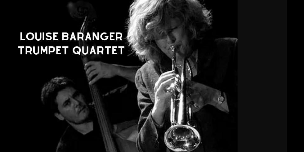 Louise Baranger Trumpet Quartet LIVE! Third Thursdays JazZ At La Zingara Bethel